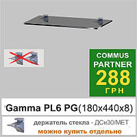 Стеклянная полка Сommus PL6 PG , фото 1