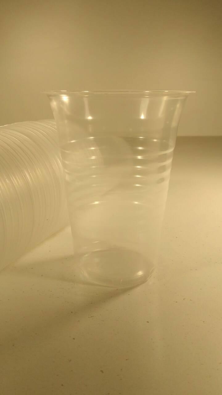 Пластиковый стакан одноразовый большой 480 мл, Атем, (50 шт)