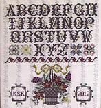 Схема для вышивки Rosewood Manor Surrey House Sampler, фото 2