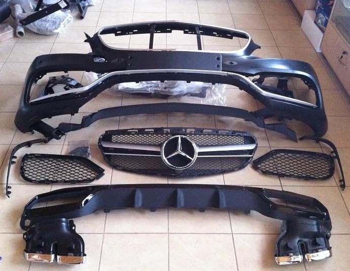 """Комплект обвеса """"AMG"""" на Mercedes E-class W212 - """"OBVES.IN.UA"""" - обвесы, тюнинг, запчасти и аксессуары для вашего авто в Киеве"""