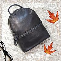 Рюкзак серый из натуральной кожи , фото 1