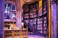 Панорамные фотообои библиотека