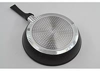 Мраморная сковорода антипригарная Benson BN-502 (24 см) с крышкой