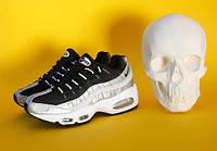 Кросівки Nike Air MAX 95 BLACK/SILVER. Розміри в наявності:  , 37, 38, 39, 40,  , 42, 43, 44, 45., фото 1