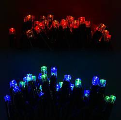 Гирлянда уличная светодиодная, 100 лампочек, 10 метров, код 31317