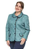Демисезонный стеганный женский пиджак, фото 1