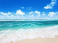Панорамные фотообои Морской пляж