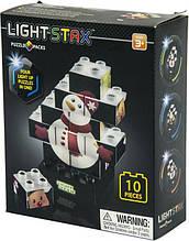 Конструктор LIGHT STAX Junior с LED подсветкой Puzzle Christmas Edition