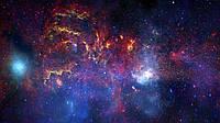 Панорамные фотообои Космос