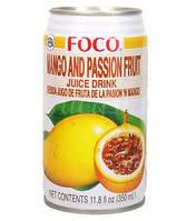 Foco Passion Fruit Drink (Манго - Маракуйя)