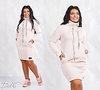 Платье женское трехнить большие размеры  /р15127, фото 1
