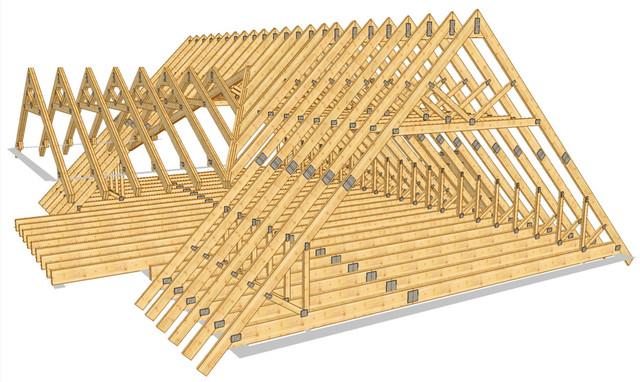 Сторопила для даху 100х100 мм