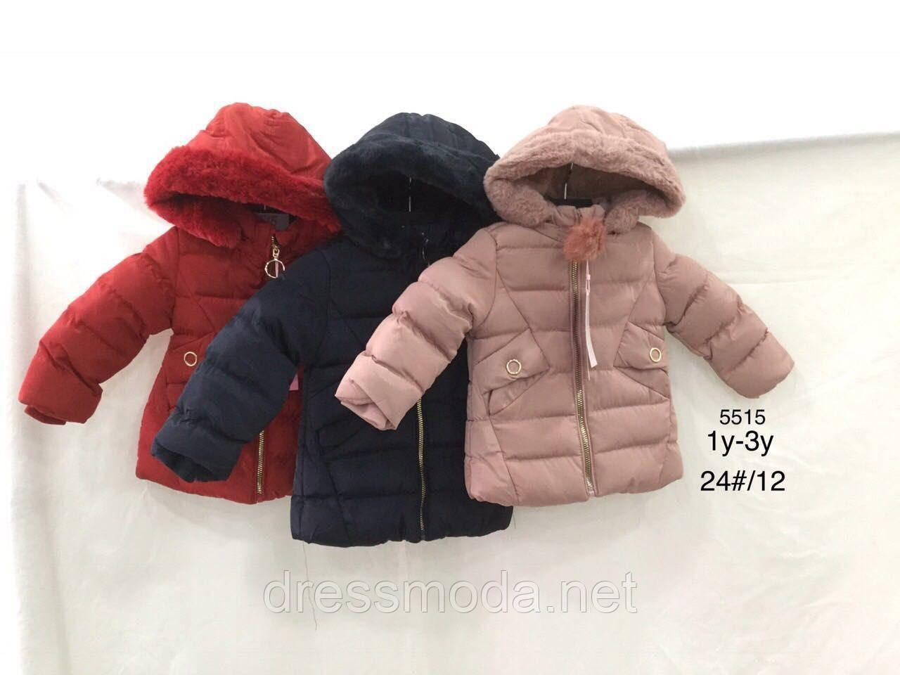 Куртки зимние для девочек Nature 12/18 - 30/36 мес.