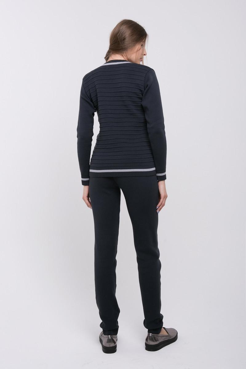 SEWEL Вязаный костюм SC424 (46-48, темно-серый, 100% акрил)