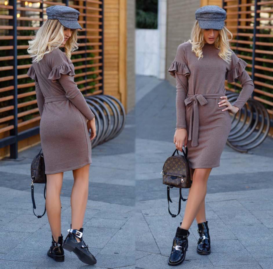 0a650bf22ed Женское стильное короткое платье