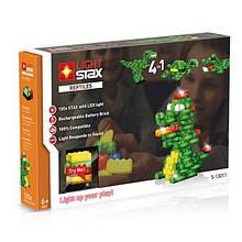 Конструктор LIGHT STAX с LED подсветкой Reptile V2 4в1