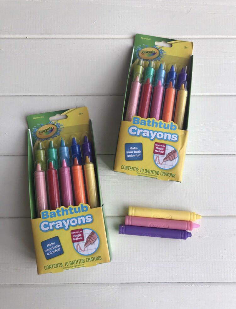 Карандаши для ванной Crayola bathtub