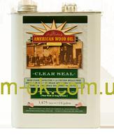 Масло Clear Seal - высококачественная внутренняя отделка из дерева 3,8 л оригинал
