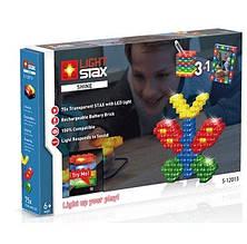 Конструктор LIGHT STAX с LED подсветкой Shine V2 3в1