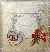 Салфетка декупажная Свадьба 2109