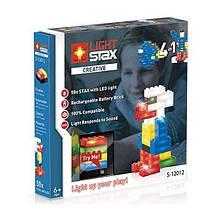 Конструктор LIGHT STAX с LED подсветкой Creative 4в1 з датчиком звука