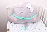 Комплект в детскую кроватку с зверюшками, фото 3