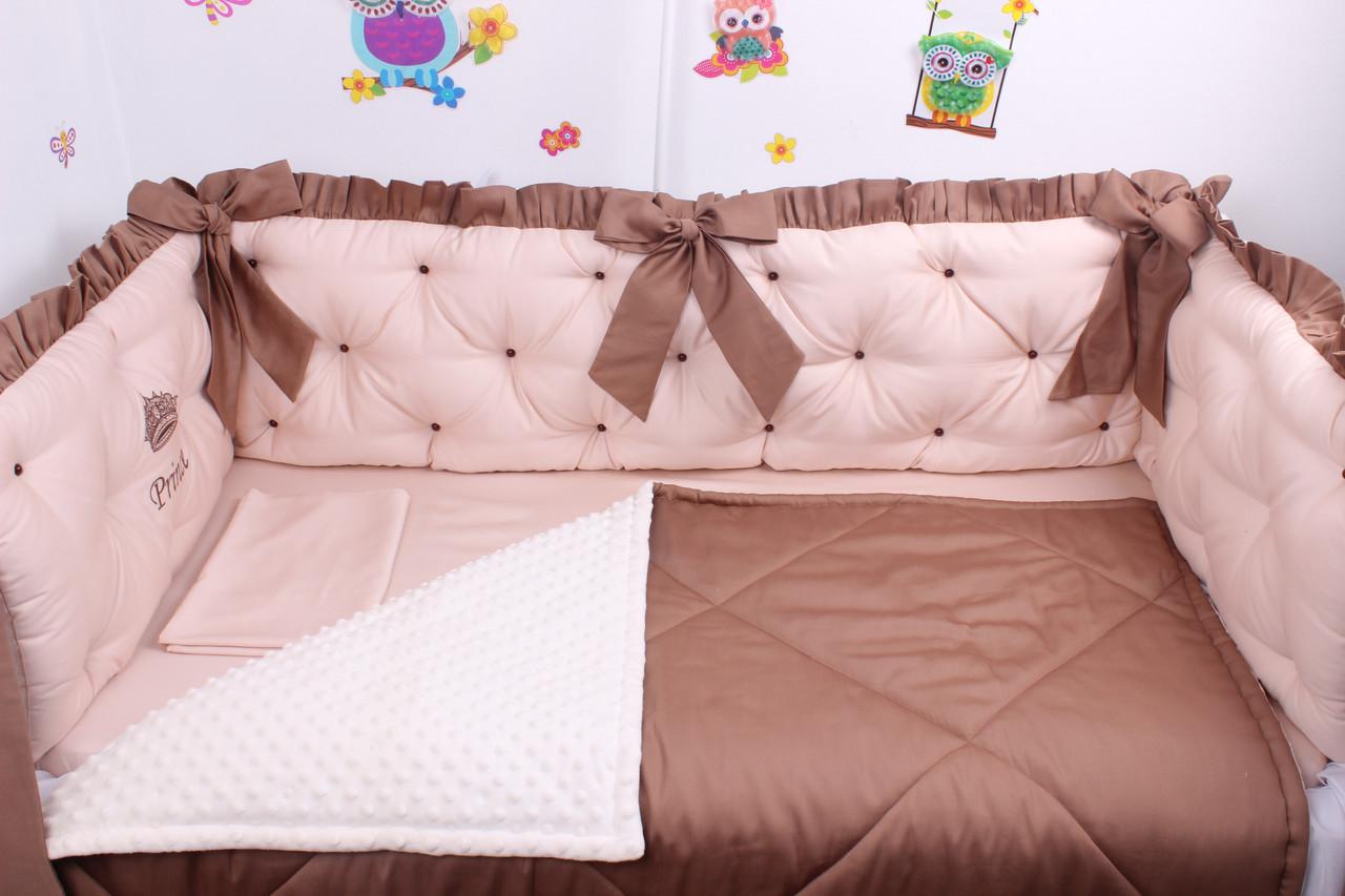 Комплект в дитяче ліжечко каретна стяжка