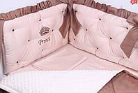Комплект в дитяче ліжечко каретна стяжка, фото 4