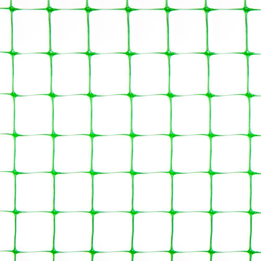Сетка садовая на метраж - ширина - 1 м, 12*14 зеленая