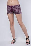 SEWEL Шорты SH422 (46-48, марсала, темно-бежевый, розовый, 50% хлопок/ 50% акрил)