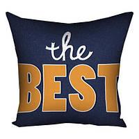 Подушка с принтом The Best (3P_FAM024)