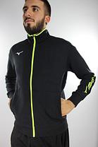 Костюм Mizuno Sweat Fz Jacket + Sweat Pant (32EC7009-09+32ED7010-09), фото 2