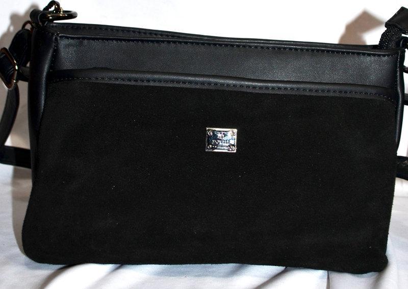 Женская Сумочка Dovili клатч сумка из натуральной замши через плечо ... b9d9cdcb311