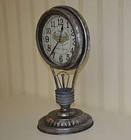 Оригинальные настольные часы 3662S, металл (45*23,5*21 см.)