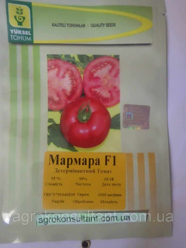 Семена томата детерминантного (низкорослого) Мармара F1 ,1000 семян