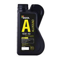 Минеральное моторное масло 15w40 BIZOL 82010 Allround 1 л