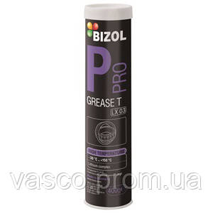 Pro  Grease T LX 03 High temper. Bizol літієве мастило 0,4 кг(синє) (В83205)
