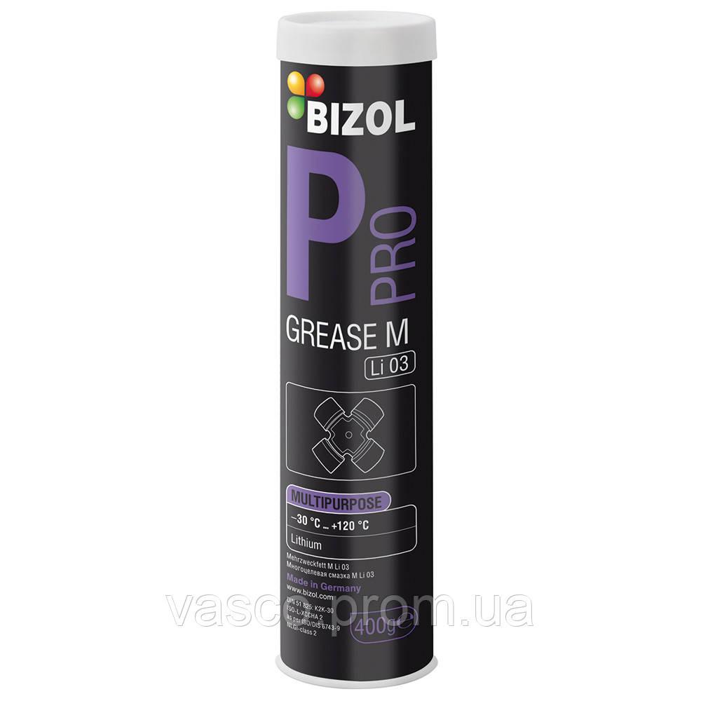 Pro  Grease M Li 03 Multipurpose Bizol багатоцільове мастило 0,4 кг(В82050)