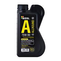 75w90 Allround Gear Oil TDL 1л Bizol (В 87220) олива трансмісійна н/синт( в короб.и мост)