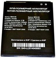 Батарея на Bravis Alpha оригинальный аккумулятор для мобильного телефона.