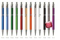 Ручки металлические  под нанесение логотипа Tiko