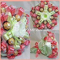 Букет из конфет Цвет магнолии