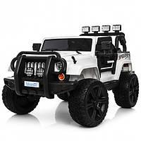 Детский электромобиль Джип «Jeep Wrangler» M 3824EBLR-1 Белый