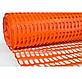 Сетка пластиковая оградительная (1,0мх50м) 80*35 оранжевая, фото 2