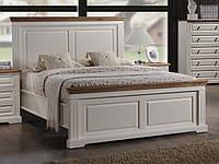 """Кровать 1,6 """"Калифорния"""" (античный белый)"""