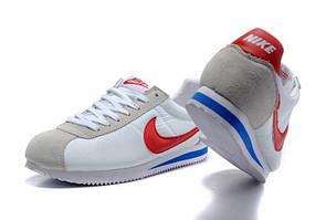 Кроссовки мужские Nike cortez nylon белые
