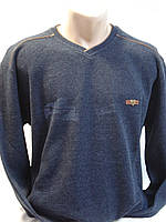 Футболка мужская T-RING  теплая джинс. цвет (3,4,5,6XL), фото 1