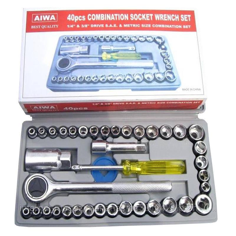 Набор Инструментов AIWA-40 Предметов в Кейсе