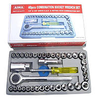 Набор Инструментов AIWA-40 Предметов в Кейсе, фото 1