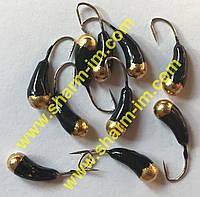 Мормышка вольфрамовая Bravo 2930-164 3,0 мм 0,58 гр. Уралка с отверстием крашенная